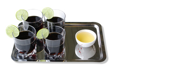 Coca vs thé