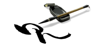 Pinceau et calligraphie