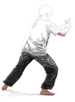 Progrès dans les arts martiaux